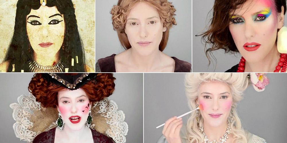 История макияжа и косметики