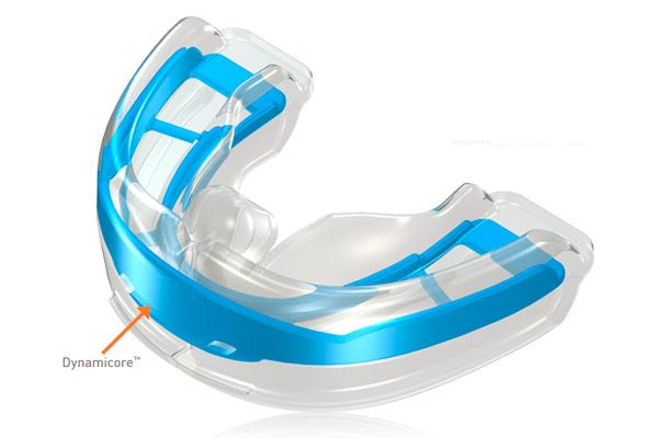 Система аппаратов myobrace эффективно тренирует язык принимать правильное положение в куполе нёба